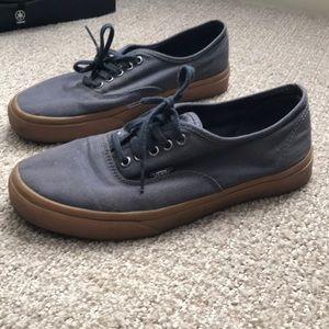 Vans navy & gum sole